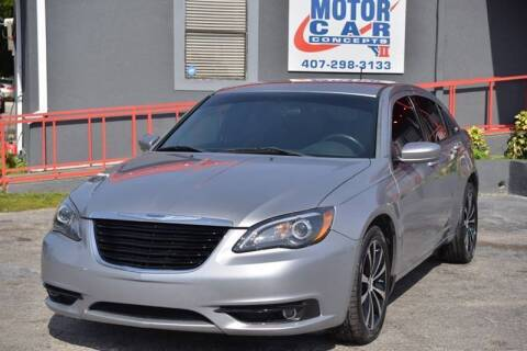 2014 Chrysler 200 for sale at Motor Car Concepts II - Colonial Location in Orlando FL