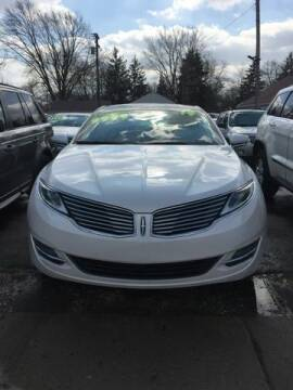2014 Lincoln MKZ Hybrid for sale at Al's Linc Merc Inc. in Garden City MI