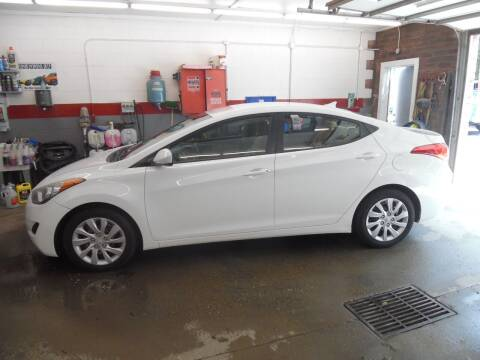 2012 Hyundai Elantra for sale at East Barre Auto Sales, LLC in East Barre VT