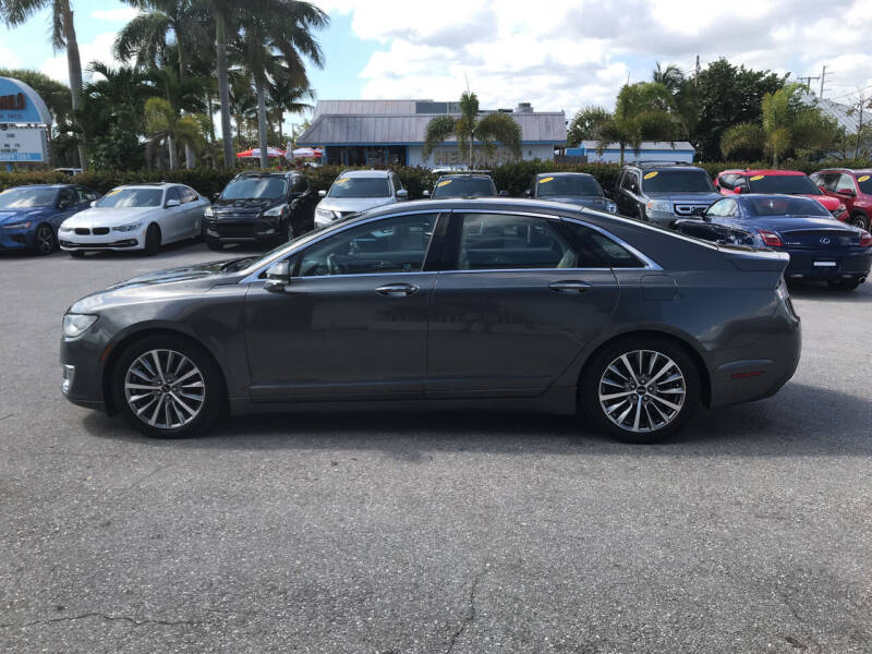 2017 Lincoln MKZ Hybrid for sale at Classic Cars of Palm Beach in Jupiter FL