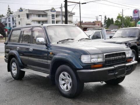 1993 Toyota Land Cruiser for sale at JDM Car & Motorcycle LLC in Seattle WA
