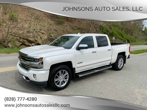 2017 Chevrolet Silverado 1500 for sale at Johnsons Auto Sales, LLC in Marshall NC