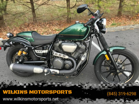 2015 Yamaha Bolt C-Spec for sale at WILKINS MOTORSPORTS in Brewster NY