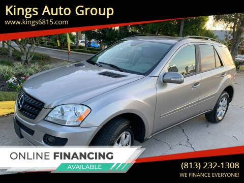 2006 Mercedes-Benz M-Class for sale at Kings Auto Group in Tampa FL