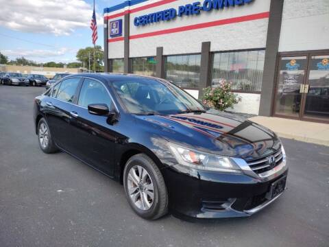 2014 Honda Accord for sale at Ultimate Auto Deals DBA Hernandez Auto Connection in Fort Wayne IN
