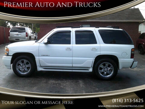 2005 GMC Yukon for sale at Premier Auto And Trucks in Independence MO