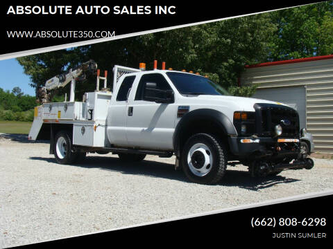 2009 Ford F-550 Super Duty for sale at ABSOLUTE AUTO SALES INC in Corinth MS
