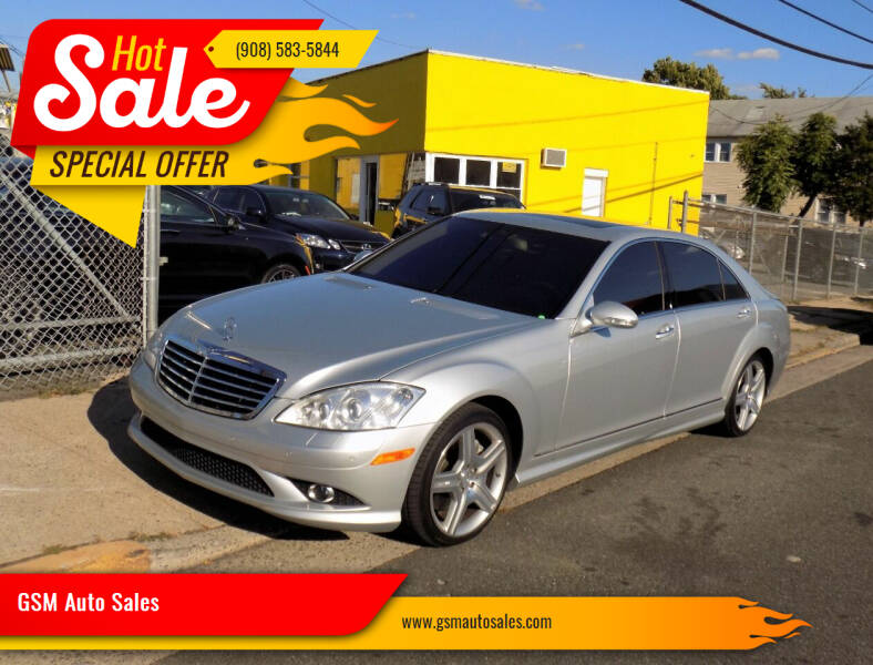 2008 Mercedes-Benz S-Class for sale at GSM Auto Sales in Linden NJ