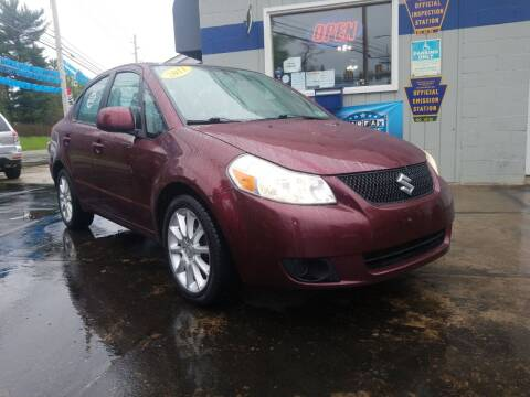 2011 Suzuki SX4 for sale at Fleetwing Auto Sales in Erie PA