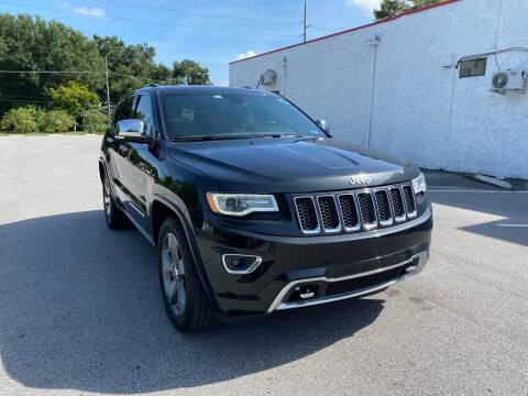 2016 Jeep Grand Cherokee for sale at LUXURY AUTO MALL in Tampa FL