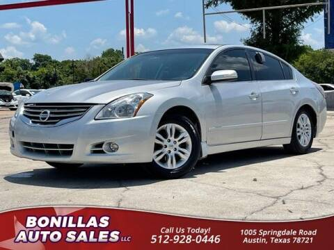 2012 Nissan Altima for sale at Bonillas Auto Sales in Austin TX