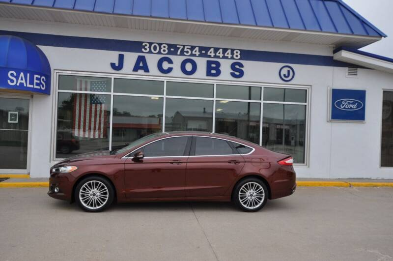 2015 Ford Fusion for sale at Jacobs Ford in Saint Paul NE