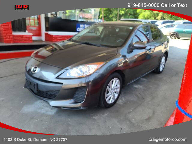 2012 Mazda MAZDA3 for sale at CRAIGE MOTOR CO in Durham NC