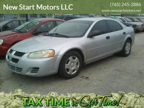 2004 Dodge Stratus for sale at New Start Motors LLC - Crawfordsville in Crawfordsville IN