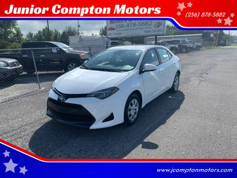 2017 Toyota Corolla for sale at Junior Compton Motors in Albertville AL