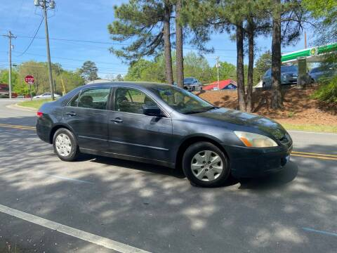 2004 Honda Accord for sale at THE AUTO FINDERS in Durham NC