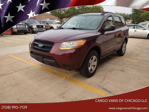 2009 Hyundai Santa Fe for sale at Cargo Vans of Chicago LLC in Mokena IL