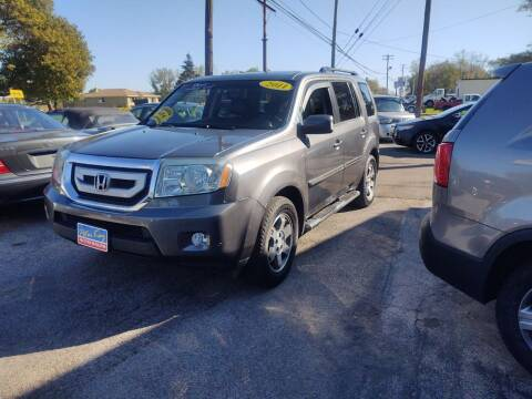 2011 Honda Pilot for sale at Peter Kay Auto Sales in Alden NY