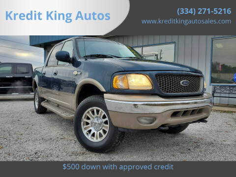 2001 Ford F-150 for sale at Kredit King Autos in Montgomery AL