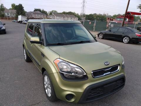 2012 Kia Soul for sale at Red Rock's Autos in Denver CO