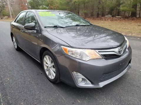 2013 Toyota Camry for sale at Showcase Auto & Truck in Swansea MA