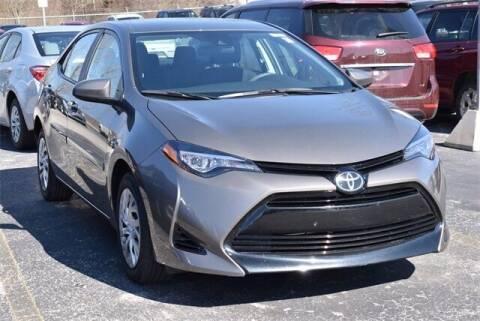 2018 Toyota Corolla for sale at BOB ROHRMAN FORT WAYNE TOYOTA in Fort Wayne IN