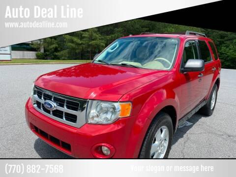 2011 Ford Escape for sale at Auto Deal Line in Alpharetta GA