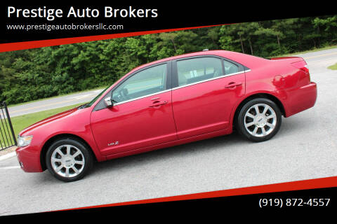 2009 Lincoln MKZ for sale at Prestige Auto Brokers in Raleigh NC