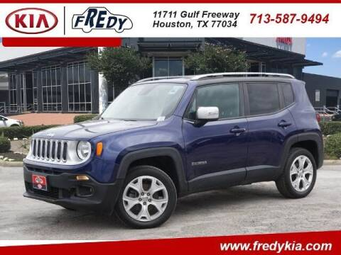 2016 Jeep Renegade for sale at FREDY KIA USED CARS in Houston TX