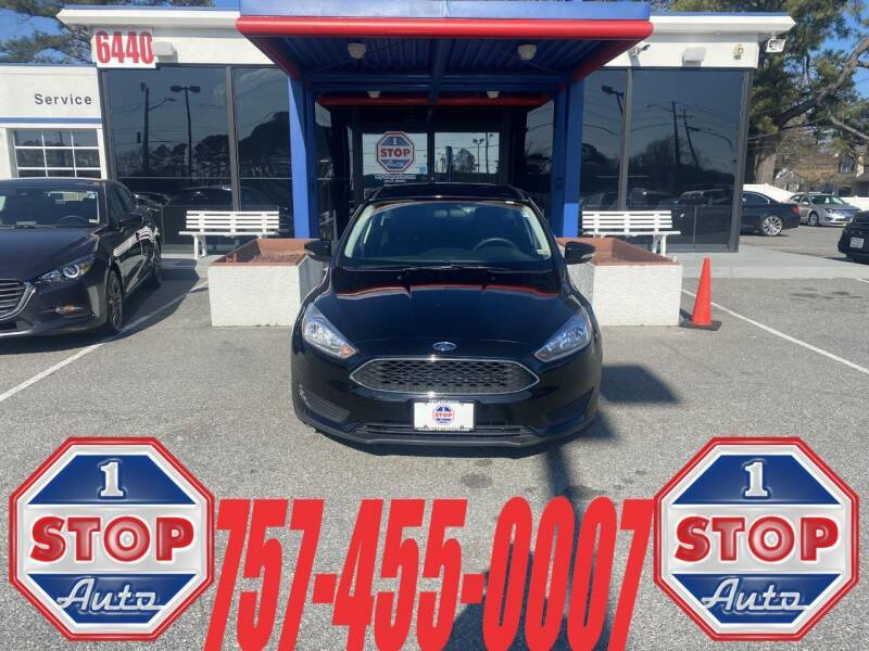 2017 Ford Focus for sale at 1 Stop Auto in Norfolk VA