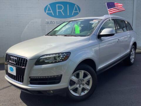2013 Audi Q7 for sale at ARIA  AUTO  SALES - ARIA AUTO SALES INC.COM in Raleigh NC