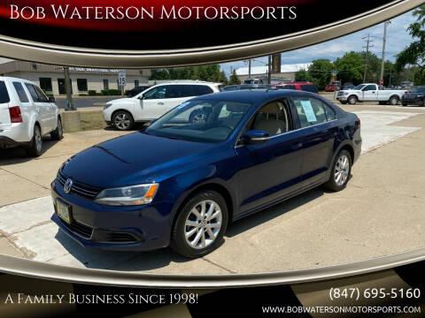 2013 Volkswagen Jetta for sale at Bob Waterson Motorsports in South Elgin IL