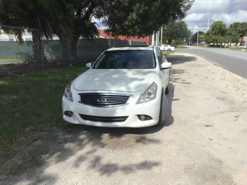 2010 Infiniti G37 Sedan for sale at Roadmaster Auto Sales in Pompano Beach FL