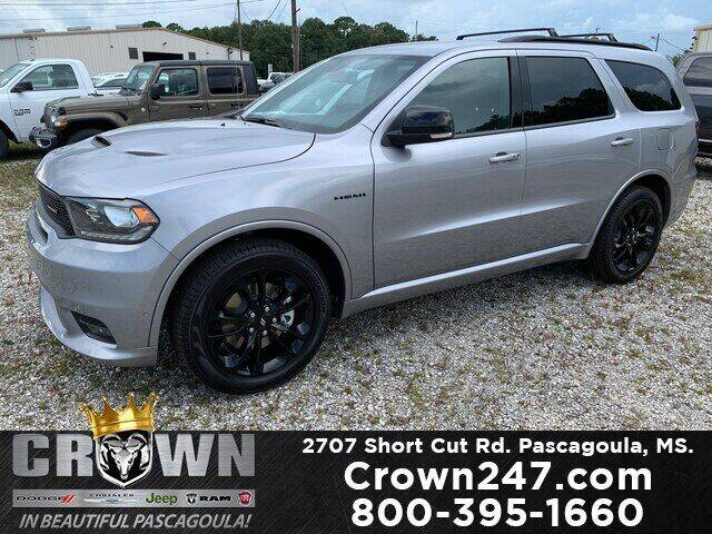 2020 Dodge Durango for sale at CROWN  DODGE CHRYSLER JEEP RAM FIAT in Pascagoula MS