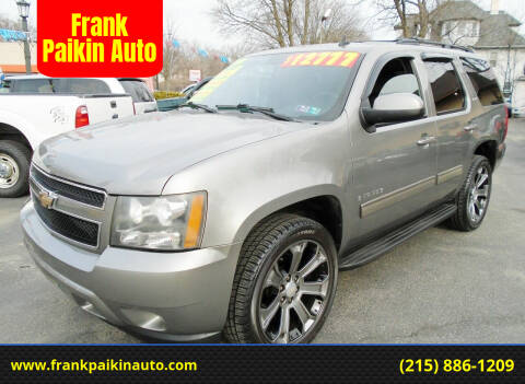 2009 Chevrolet Tahoe for sale at Frank Paikin Auto in Glenside PA