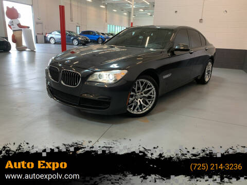 2015 BMW 7 Series for sale at Auto Expo in Las Vegas NV