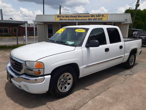 2007 GMC Sierra 1500 Classic for sale at Taylor Trading Co in Beaumont TX
