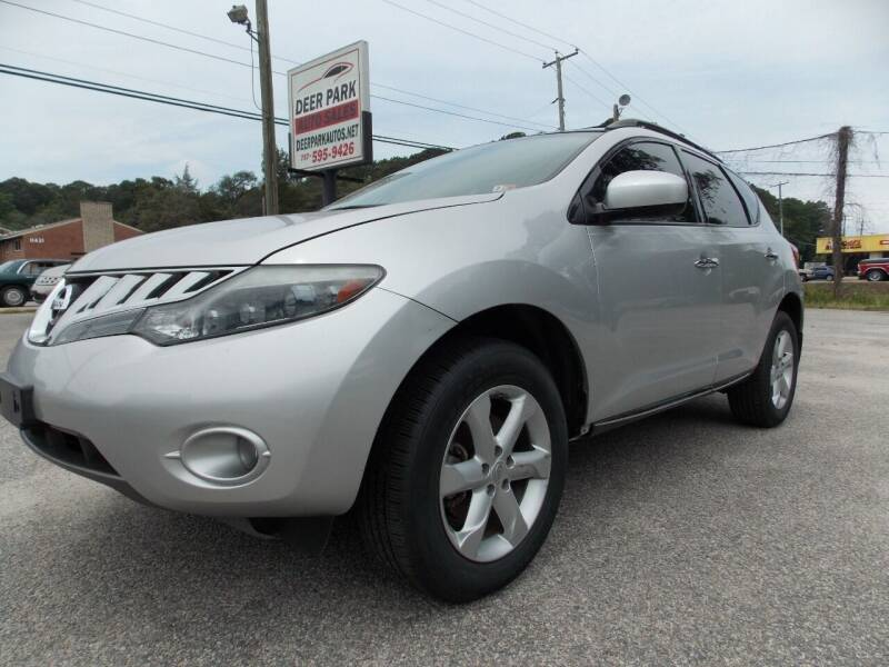 2010 Nissan Murano for sale at Deer Park Auto Sales Corp in Newport News VA