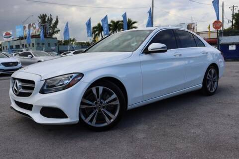 2017 Mercedes-Benz C-Class for sale at OCEAN AUTO SALES in Miami FL