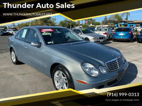 2005 Mercedes-Benz E-Class for sale at Thunder Auto Sales in Sacramento CA