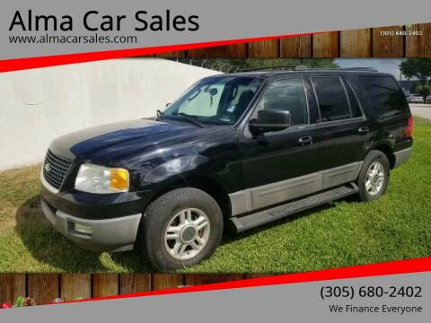 2003 Ford Expedition for sale at Alma Car Sales in Miami FL