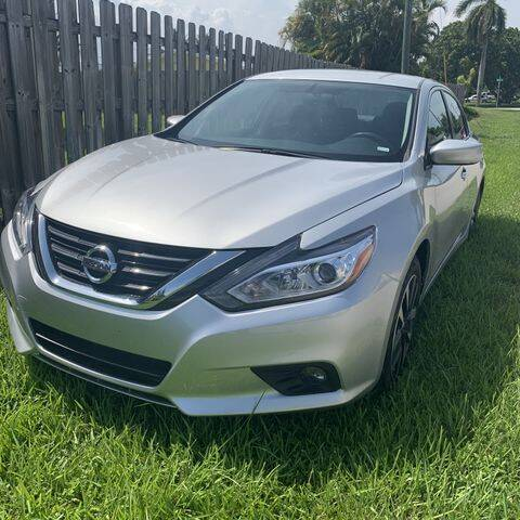 2018 Nissan Altima for sale at POWERLINE AUTO CENTER in Fort Lauderdale FL