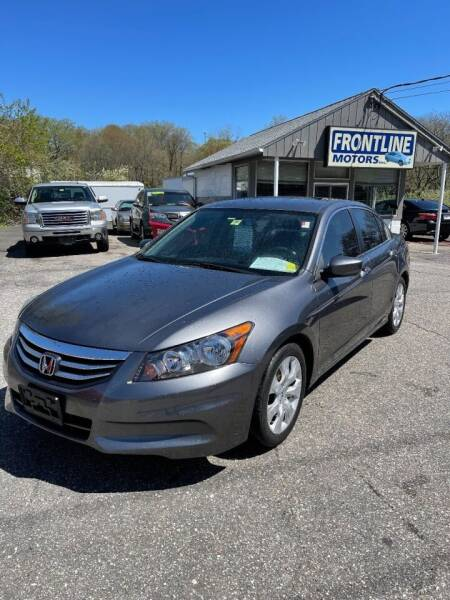 2012 Honda Accord for sale at Frontline Motors Inc in Chicopee MA