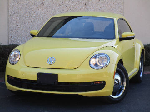 2012 Volkswagen Beetle for sale at Ritz Auto Group in Dallas TX