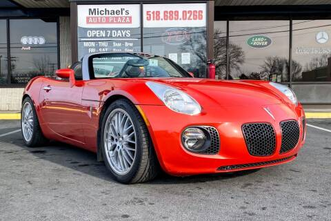 2008 Pontiac Solstice for sale at Michaels Auto Plaza in East Greenbush NY