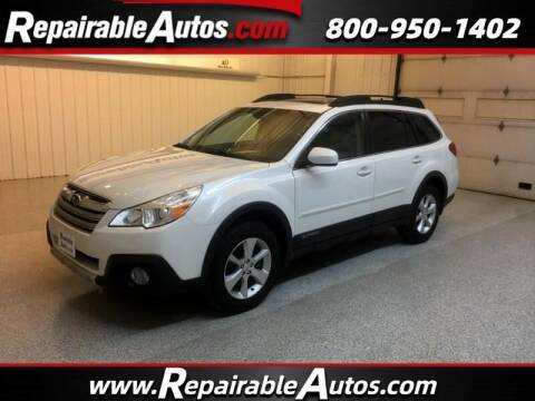 2014 Subaru Outback for sale at Ken's Auto in Strasburg ND