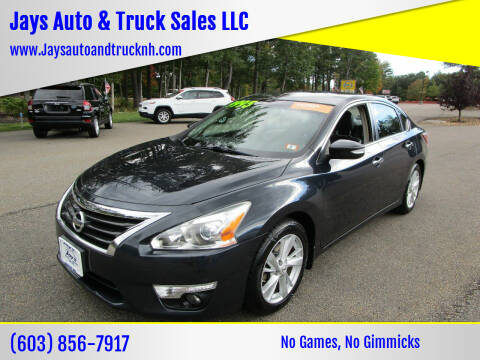2013 Nissan Altima for sale at Jays Auto & Truck Sales LLC in Loudon NH