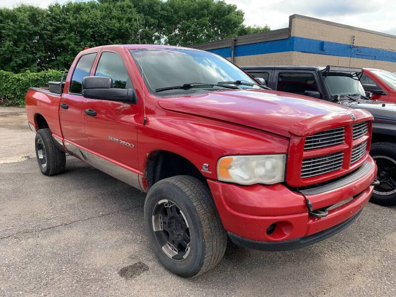 2003 Dodge Ram Pickup 2500 for sale at BEAR CREEK AUTO SALES in Rochester MN
