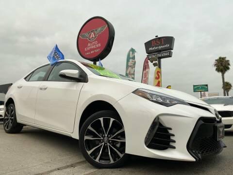 2017 Toyota Corolla for sale at Auto Express in Chula Vista CA