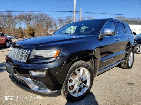 2014 Jeep Grand Cherokee for sale at Porcelli Auto Sales in West Warwick RI